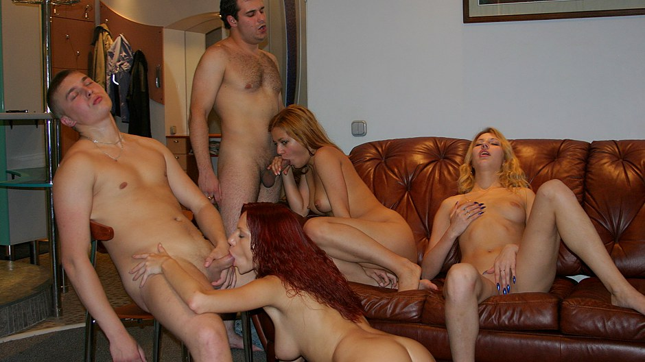 Playful Lovely Soiree Nymphs Tempt Super-naughty Fellows